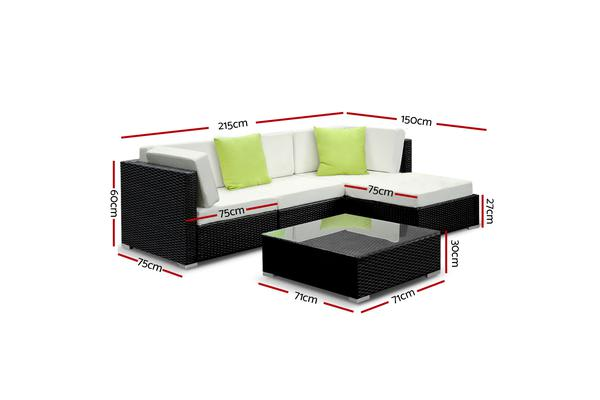 Gardeon 5 Piece Outdoor Furniture Set