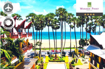 PHUKET: 7 Nights at Woraburi Phuket Resort & Spa Including Flights for Two