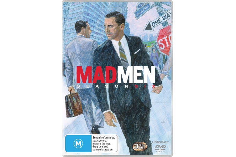 Mad Men Season 6 DVD Region 4