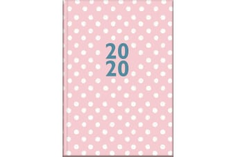 Ditzy Dots - 2020 Diary Planner A5 Padded Cover by The Gifted Stationery