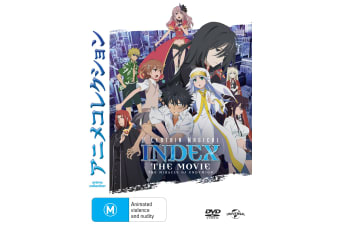A Certain Magical Index The Movie The Miracle of Endymion DVD Region 4