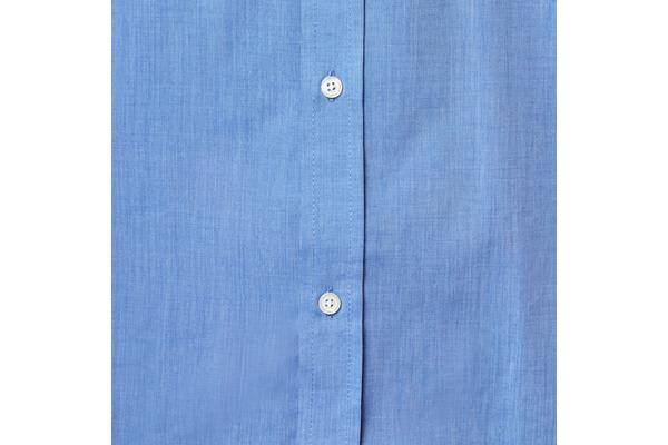 Hard Yakka Short Sleeve End On End Shirt (Blue, Size 4XL)