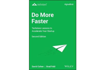 Do More Faster - Techstars Lessons to Accelerate Your Startup