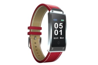 "TODO Bluetooth V3.0 Smart Watch 0.96"" Oled Blood Pressure Heart Rate Ip67  Red"