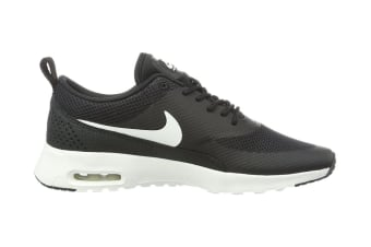 Nike Women's Air Max Thea Running Shoe (Black/Summit White, Size 7 US)