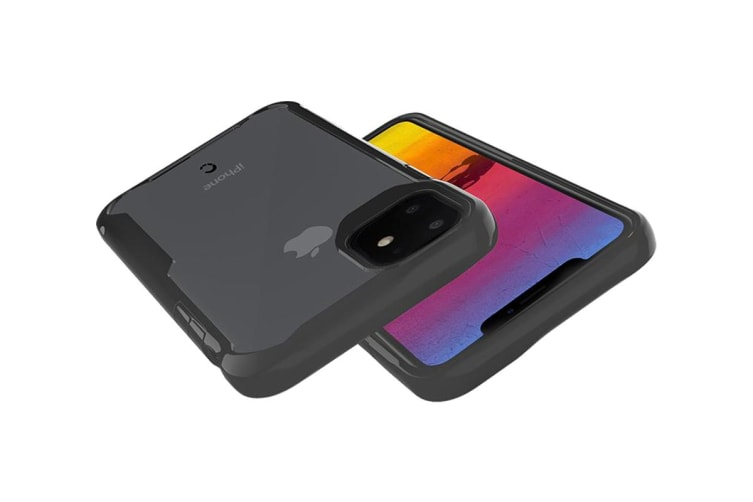 Cygnett Vice Shock Absorbent Protective Case for iPhone 11 - Black (CY2943CPVCE)