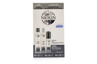 Nioxin 3D Care System Kit 2 - For Natural Hair  Progressed Thinning  Light Moisture 3pcs