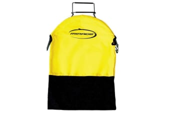 Mirage Spring Loaded Catch Bag Yellow