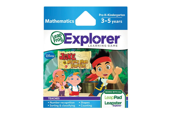 LeapFrog Learning Game Jake & The Never Land Pirates