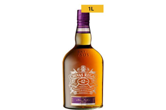 Chivas Regal Brothers Blend 12 Year Old 1L 1000mL Bottle