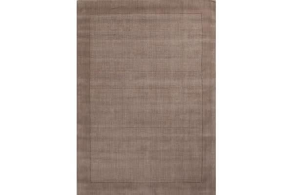 Cut and Loop Pile Rug Latte 225x155cm
