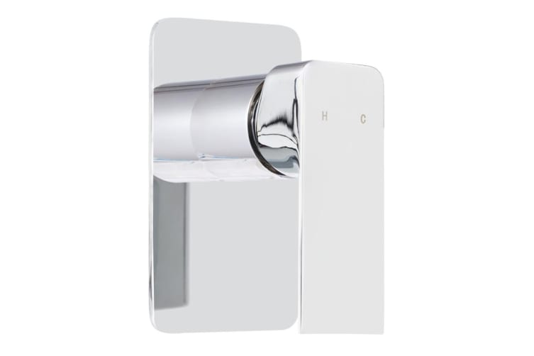 Cefito Brass Shower Mixer Head Hot and Cold Bathroom Tap Chrome