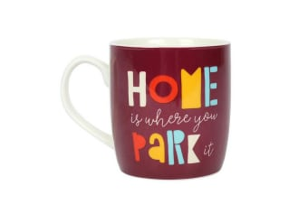 Something Different Home Is Where You Park It Mug (Multicoloured) (One Size)