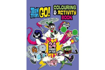 Teen Titans Go! Colouring & Activity Book