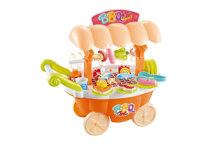 Kids Toy Barbeque Trolley Set (668-61)