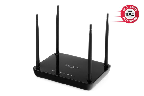 Kogan Wireless AC Router