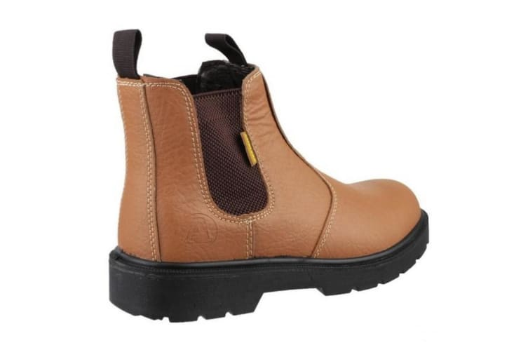 Amblers Steel FS115 Pull-On Dealer Boot / Womens Ladies Boots (Tan) (7 UK)