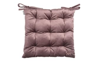 Select Mall Soft Outdoor Chair Pads with Ties Home Decor Indoor Dining Chairs Cushion Square Chair Pads-2