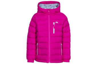 Trespass Childrens/Kids Aksel Padded Jacket (Pink Lady) (11-12 Years)