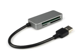 Kogan USB 3.0 Aluminium Card Reader (Space Grey)