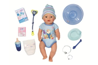 Baby Born Interactive Doll (Blue)