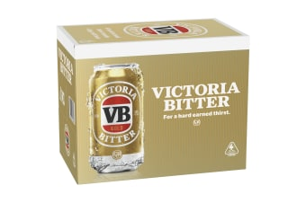 Victoria Bitter Beer  Gold 30 x 375mL Cans