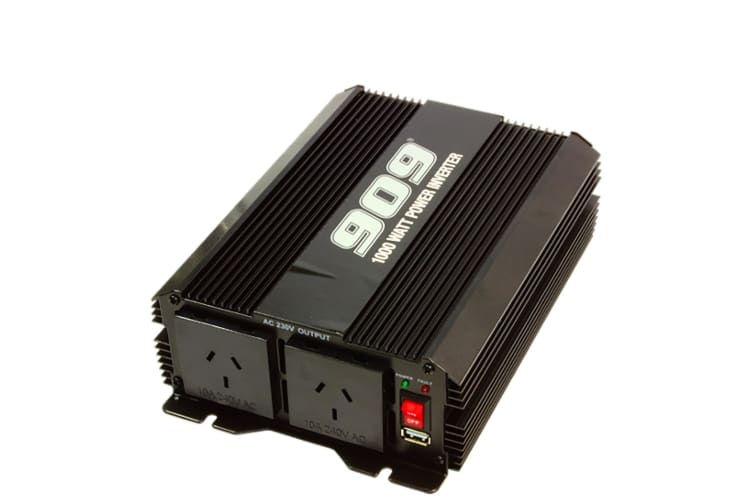 909 1000W WATT INVERTER + USB PORT 12V to 240V VOLT POWER CARAVAN NEW HT87112