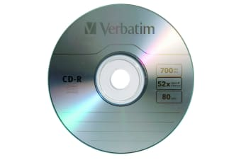 Verbatim Standard 120mm CD-R Media 700 MB 50 pc(s)