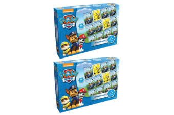 2x 36pc Paw Patrol Educational Memory Playing Card Game Toy 2-4 Players Kids 3y+