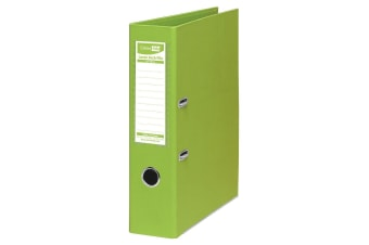 ColourHide A4 75mm 375 Sheets Lever Arch File/Paper Binder/Office Organiser Lime