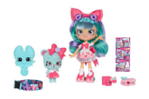 Shopkins Shoppies Wild Style Doll Bella Bow Playset