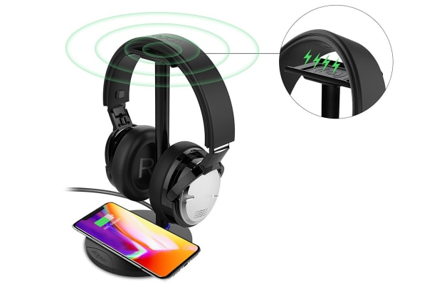 Kogan Wireless Charge Active Noise Cancelling Headphones