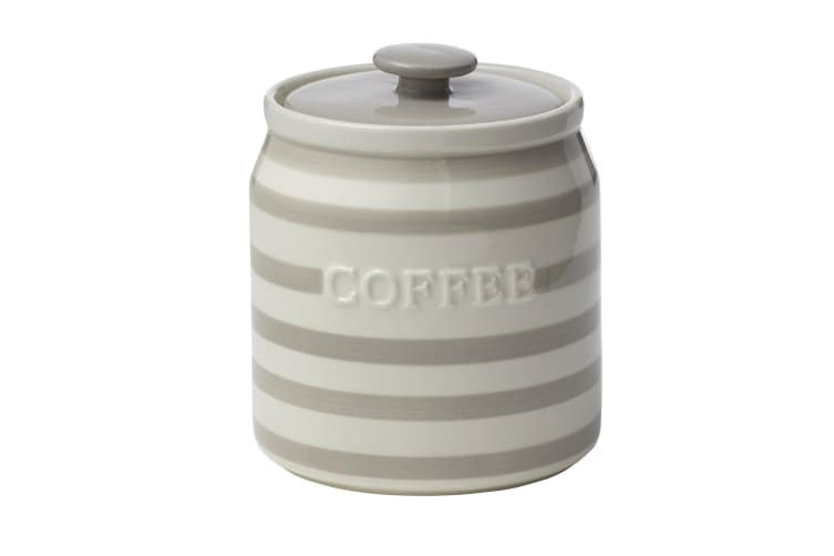 Pantry Stoneware Canisters - Coffee