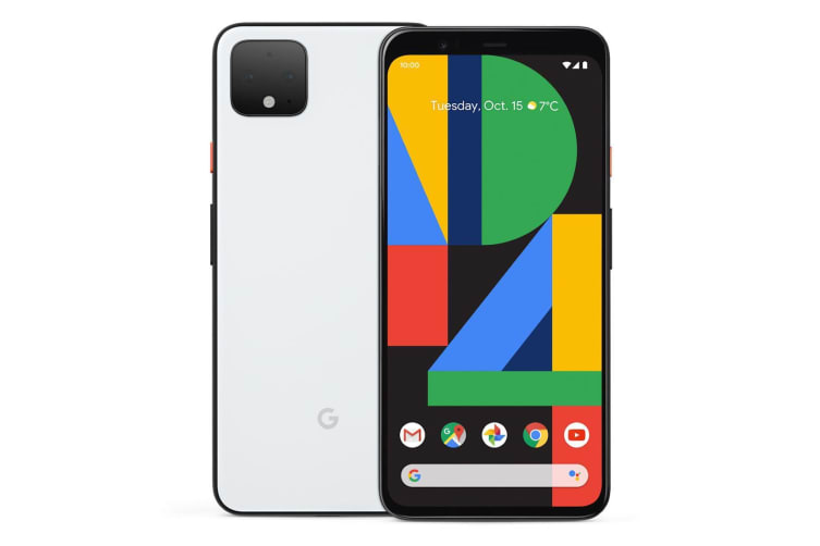 """Google Pixel 4 (5.7"""", 16MP, 128GB/6GB) - Clearly White"""