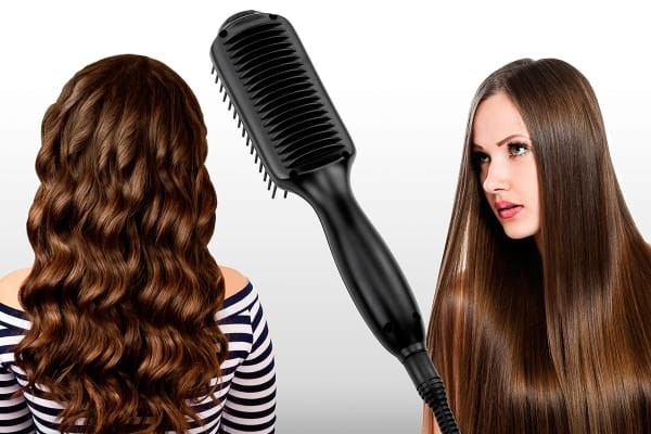 Estelle Hair Straightening Brush