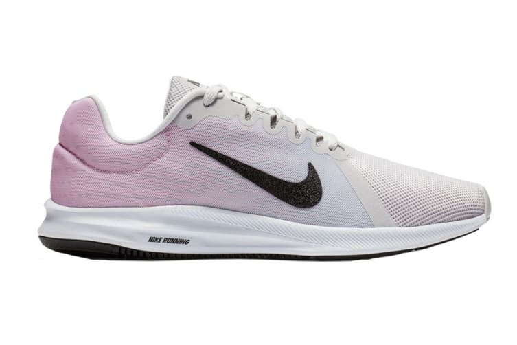 Nike Women's Downshifter 8 (Grey/Pink, Size 8 US)