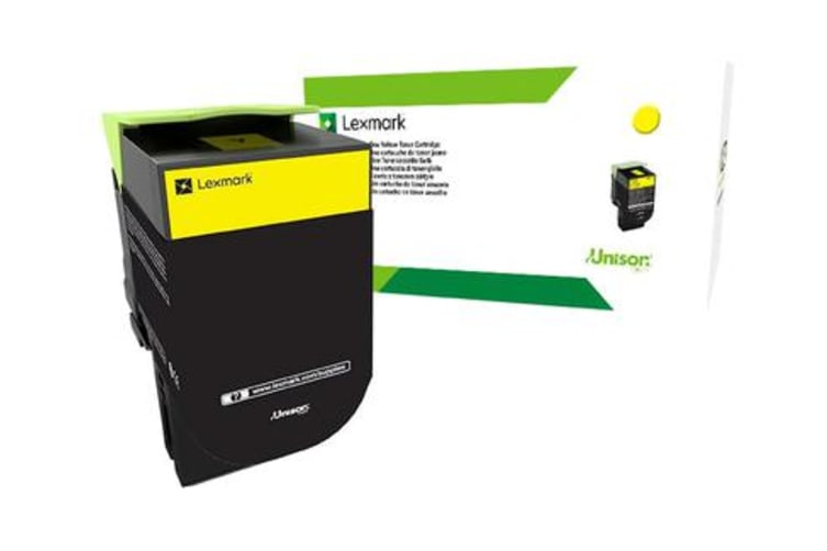 Lexmark 70C8HYE toner cartridge Original Yellow 1 pc(s)