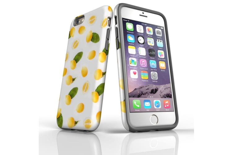 For iPhone 6S & 6 Shielding Back Case  When Life Gives You Lemons
