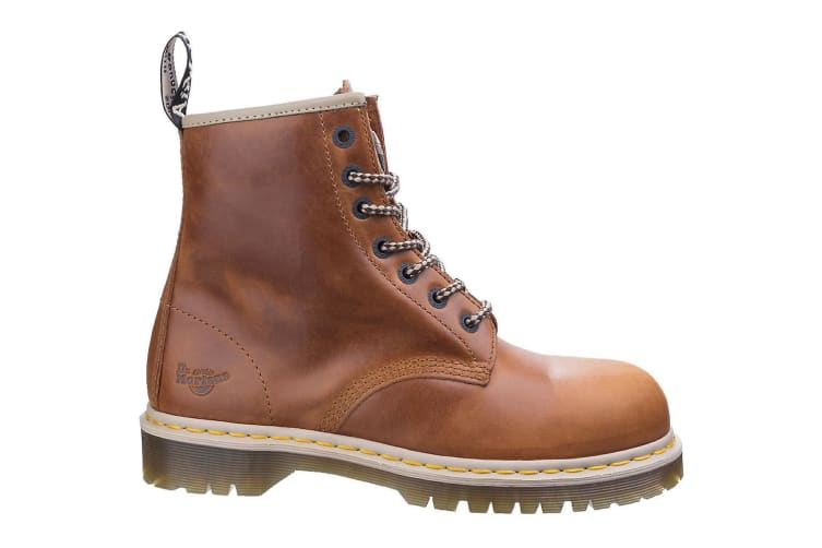 Dr Martens Unisex Icon 7B10 Safety Boots (Tan) (13 UK)