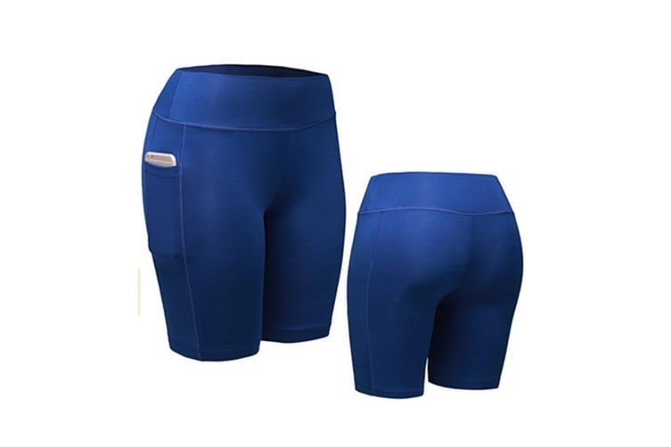 Women Performance Compression Shorts with Pocket XL