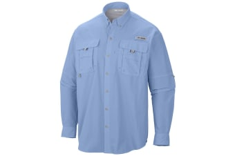 Columbia Mens PFG  Bahama II Long Sleeve Shirt - Sail