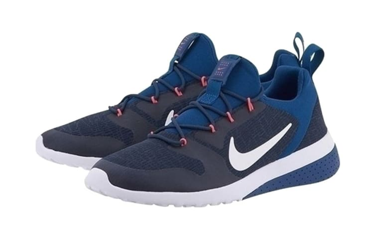Nike Men's CK Racer Shoes (Obsidian/White Gym/Thunder Blue, Size 8.5 US)