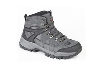 Johnscliffe Boys Andes Hiking Boots (Charcoal Grey)
