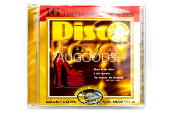 Disco Fever - 16 Timeless Treasures BRAND NEW SEALED MUSIC ALBUM CD - AU STOCK
