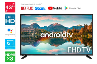 "Kogan 43"" Smart Full HD LED TV Android TV™ (Series 9, RF9000)"