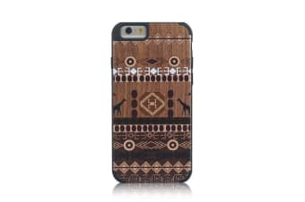 For iPhone 6S 6 Case  African Ethnic Wooden Durable Shielding Cover