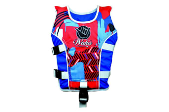 Wahu Swim Vest Child Large 25-50Kg in Red
