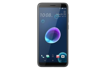 HTC Desire 12 Dual SIM (32GB, Cool Black)