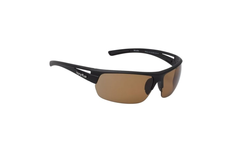 Brown Ugly Fish Mirage PC7330 Polycarbonate Polarised Sunglasses - Adult Fishing Sunnies