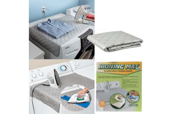 Ironing Mat - Portable Ironing Mat Dryer Washer Iron Anywhere Compact Foldable